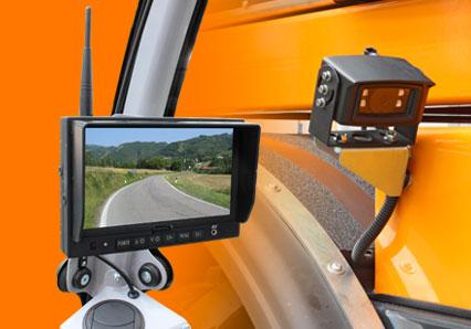monitor mit videokamera - energreen germany - maschinen für den professionellen einsatz