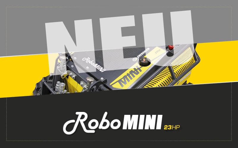 NEU RoboMINI Energreen - Energreen Germany - Maschinen für den Professionellen Einsatz