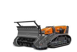 robomax - foresry 150h - forstmulcher - energreen germany - die technik für die profis in der grünpflege