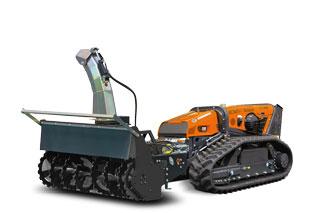 robomax - snow blower - turbo-schneefraese - energreen germany - die technik für die profis in der grünpflege