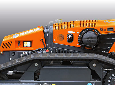 robomax - chassis stahl - energreen germany - die technik für die profis in der grünpflege