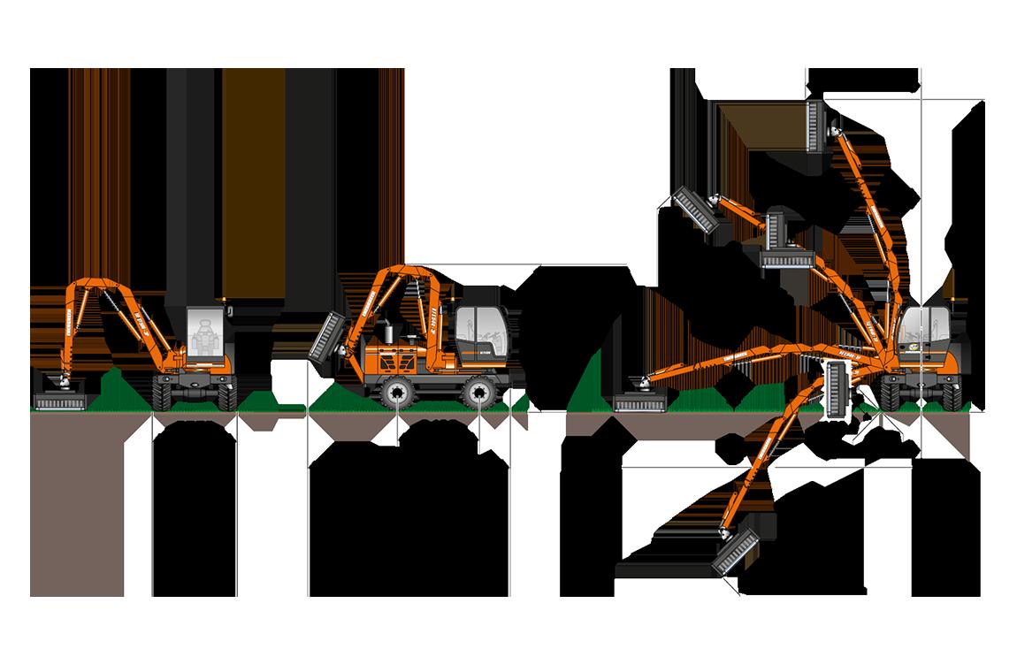 ilf s1500 - geometrie ausleger 3p - energreen germany - die technik für die profis in der grünpflege