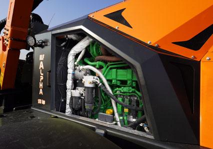 ILF Alpha - motor john deere - energreen germany - die technik fur die profis in der grunpflege