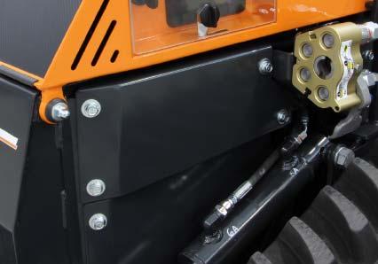 roboevo - optimale sicherheit - funkferngesteuerter raupenketten mulcher - energreen germany - die technik für die profis in der grünpflege