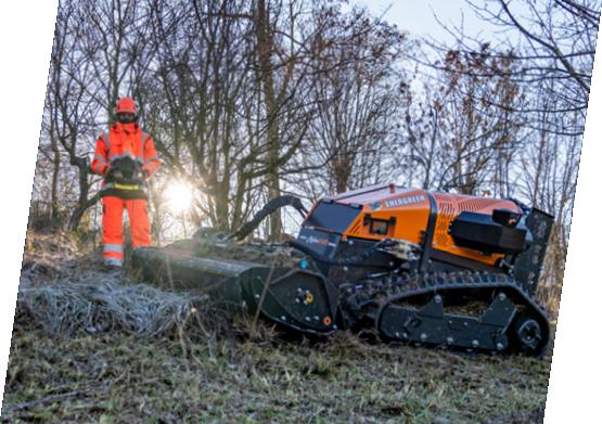roboevo - demo - energreen germany - die technik fur die profis In der grunpflege
