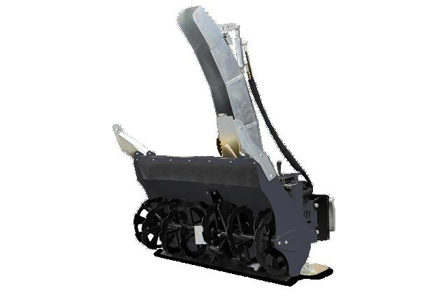 roboevo - anbaugeraete - turbo schneefraese - snow blower - energreen germany - die technik fur die profis in der grunpflege