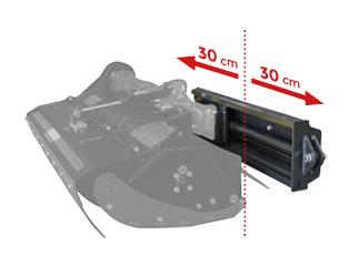 roboevo - anbaugeraete - hydraulische verschiebevorrichtung - side shift - energreen germany - die technik für die profis in der grünpflege
