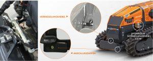 roboevo - fronthubwerk schnellkupplung - energreen germany - die technik fur die profis in der grunpflege