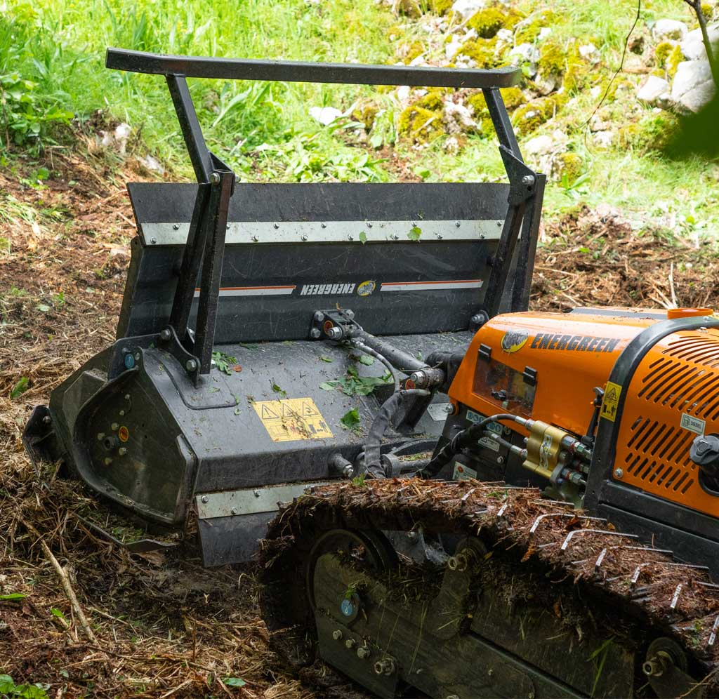 robomidi - forestry head - forstmulcher - energreen germany - die technik fur die profis in der grunpflege