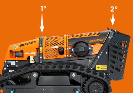 robomidi - qualitat komponenten - zwei uberrollbugel - energreen germany - die technik fur die profis in der grunpflege