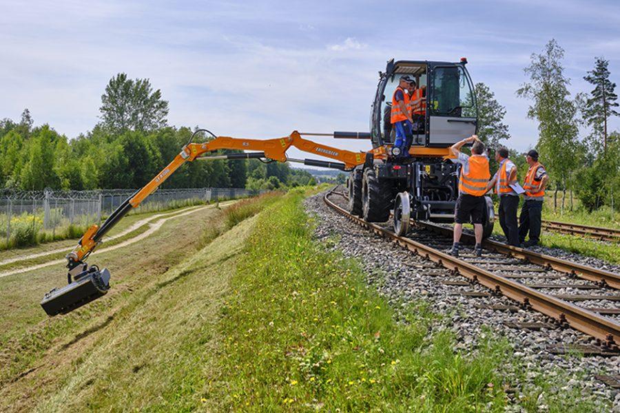 Gleis oder Gelaende zweiwege Selbstfahrer ILF R1500 von Energreen